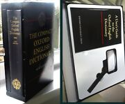 Oxford English Compact Micrographic Dictionary+ Magnifier Oup New Edition