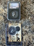 7k Metals Exclusive Roman Empire Trajan 1 Oz .999 Silver Ms70 2021 Mintage 500