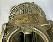 Antique Odell No. 3 Typewriter - See Notice For Collectors In Description