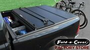 Fold-a-cover Hardtop Bed Cover + Drop-in Caddy For 2015-2021 Chevy And Gmc Trucks