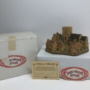 David Winter Cottages Cotswold Village 1982 Coa And Box Chipped Roof