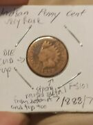 Wow 1888/7 Indian Head Cent Penny Overdate Error So Rare