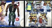 New Mattel Toy Story Lot Combat Carl 9 Action Figure Posable Woody Rex Chuckles