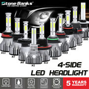 4side Led Headlight Bulb Kit 880 881 H1 H7 H4 H11 H13 9005 9006 9007 5202