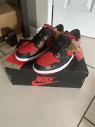 Nike Air Jordan 1 Low Og Chinese New Year Dd2233-001 Bred Size 11 With Hoodie