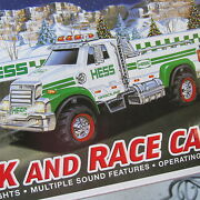 Hess Toy Truck And Race Car In Box 2011