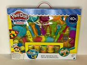 Hasbro Play-doh Kitchen Creations Ultimate Chef Set Create And Make Meals Set