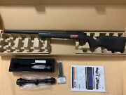 Classic Army Sr40 Bolt Action Sniper Airsoft Rifle Black With Ncstar Scope