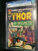 Journey Into Mystery 109 - Cgc 6.5 - Magneto Cover - Scarlet Witch Appearance