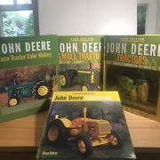 John Deere 3 Book Set   Farm Tractor Color History   Like New Clean Complete Set