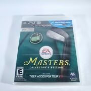 Tiger Woods Pga Tour 13 Masters Collector's Edition Sony Ps3 New And Sealed