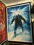The Thing Variant Gid By Drew Struzan Framed Museum Glass Mondo Poster