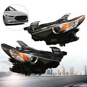 For Mazda 3 2019 2020 Right+left Led Headlight Headlamps Replacement Bcjh-51-030