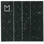 Modom Surf 4 Piece Centre Traction Surfboard Grip - Charcoal Swirl