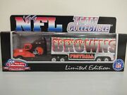 Cleveland Browns Tractor Trailer Semi Truck 180 Limited Edition New In Box