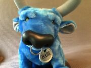Babe The Blue Ox Plush Stuffed Animal Disney Tall Tale - Only One On Ebay Rare