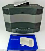 Bose Acoustic Wave Music System 2 Ii Cd Player Am/fm 5 Multi Disc-changer Remote