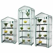 2 3 4 5 Tiers Mini Greenhouse Outdoor Garden Plants Grow Green House Pvc Cover