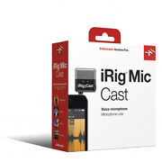 Ik Multimedia Irig Mic Cast Ultra-compact Microphone For Iphone Ipad And Android