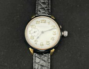 Henry Moser And Cie Military Wwi Vintage Beautifu Big Swiss Menand039s Mechanical Watch