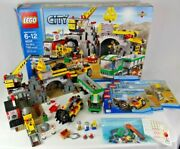 Lego City 4204 The Mine Box Minifigures Instruction Manuals - Missing Approx 4