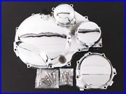 1999 Zrx1100 Plated Engine Cover Left And Right Set Clutch Pulsar Zrx1200 Gpz900r