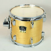 Yamaha Stage Custom Standard 10 Tom Natural Wood 9x10 Yess Mount