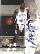 Kobe Bryant Signed Autographed 1996 Trading Card Score Board