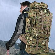 Waterproof Outdoor Camping Hiking 100l Large Capacity Backpack. Expandable.