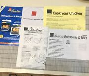 Ronco Smaller Showtime Compact 2500/3000 Rotisserie Bbq Instructions Recipes Dvd