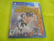 Giga Wrecker Alt For Sony Playstation 4 Ps4 System Brand New Factory Sealed