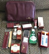 Vintage Equatoriana Airlines Amenity Kit Personal Care Jean Marie Roger Gallet