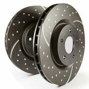 Ebc Brakes Gd7372 Gd Sport Rotors Wide Slots For Cooling To Reduce Temps Preven