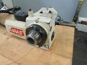 Haas Ha5c Brushed Type Programmable Rotary Table 5c Indexer With Lever Type Co
