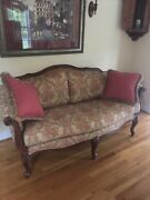 Ethan Allen Evette Settee Couch - Formal Living Room