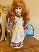 Porcelain Doll From The Eightys Always Displayed Or Stored