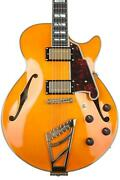 Dand039angelico Excel Ss Semi-hollowbody Electric Guitar - Vintage Natural With