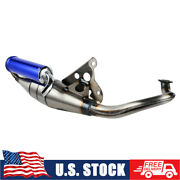 Exhaust System Muffler Pipe Scooter Moped For Yamaha Jog 50cc 2-stroke Scooters
