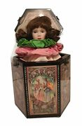 Vintage Enesco Limited Edition Sleeping Beauty Jack-in-the-box By Karen Hahn