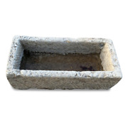 Hot Outdoor Stone Natural For Flower Beds Or Fountains Garden Stone Tub L91cm
