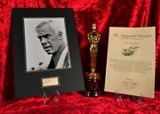 """Lee Marvin Certified Signed Autographed 16x12"""" Display + Coa"""