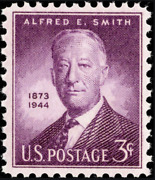 N.y. Governor Smith Usa 3 Cent Mint Unused Stamp Never Hinged Scott 937