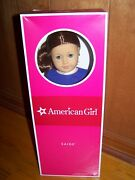 American Girl Doll Of The Year 2013 Saige With Book And Ring New In Box