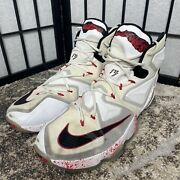 Nike Lebron 13 Size 16 Friday The 13th Collectible High Tops Blood Spots Freddie
