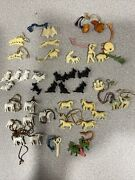 Lot Of Antique Gumball Vending Mach Charms/crackerjack
