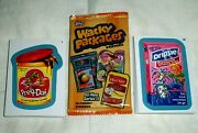 2013 Wacky Packages All New Series 11 {ans11} Complete Blue 55 Sticker Set.