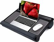 27 Large Lap Laptop Desk Home Office Portable Pc Desk With Mouse And Wrist Pad