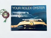 Vintage Collectible 1989 Your Rolex Oyster Booklet 579.52 W Chronometer Seal