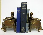 Vintage Lincoln Bookends1940and039s. Great Fatherand039s Day Gift Free Priority Shipping