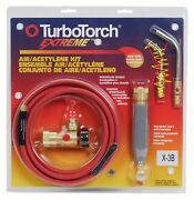 Victor Turbotorch X-3b Torch Kit For B Tank Acetylene 0386-0335 Missing Tip